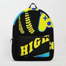 High school 2020 Abi graduation game Backpack