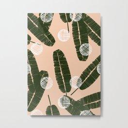Palms & Dots #society6 #decor #buyart Metal Print