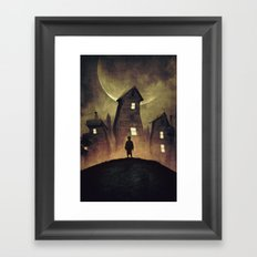 A Bad Dream Framed Art Print