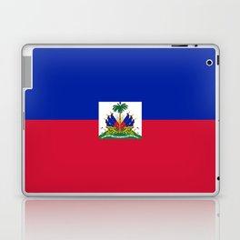 flag of haïti Laptop & iPad Skin