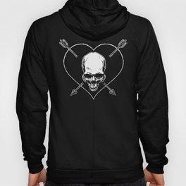Eros & Thanatos (Jolly Roger Black Flag) Hoody