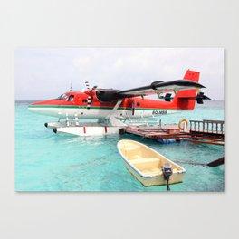 Maldivian Air Taxi De Haviland Canada DHC-6-300 Twin Otter Canvas Print