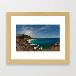 Makapuu Point Framed Art Print