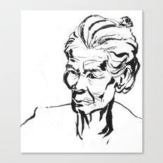 Old women Canvas Print