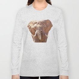 Elephant illustration Long Sleeve T-shirt