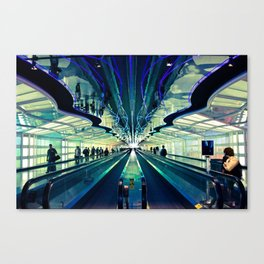 Layover Canvas Print