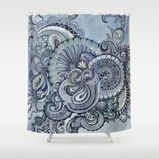 It's you Babe who gets me flowin' Shower Curtain