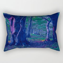 Beeches Art Rectangular Pillow