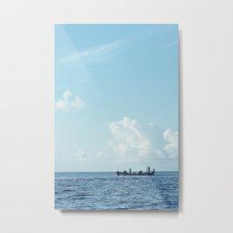 Cultural fishing Metal Print