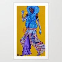 Neon Beast #3 Art Print