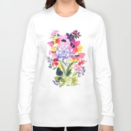 Petite Wildflowers Long Sleeve T-shirt
