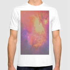 Ghosting Mens Fitted Tee White MEDIUM
