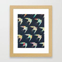 Australian Welcome Swallow I Framed Art Print