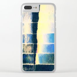 Time Lapse Sunset Clear iPhone Case