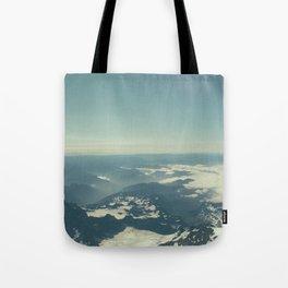 Amidst the Summit - Mt. Rainier Tote Bag