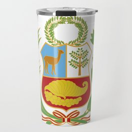 Peru Shield Travel Mug