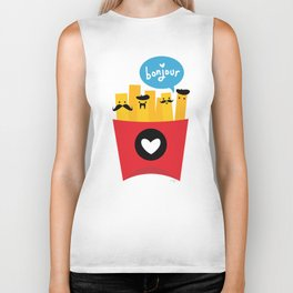 French Fries Biker Tank