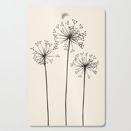Dandelions Cutting Board