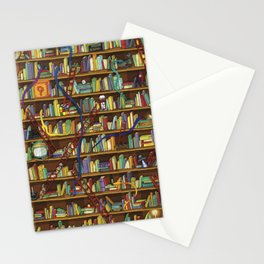 Snakes & Ladders Stationery Cards
