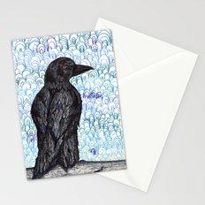 Black Bird Stationery Cards
