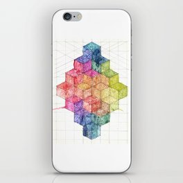 Transitional Rainbow iPhone Skin