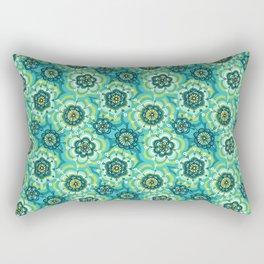 Funny flowers Rectangular Pillow