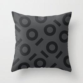 Keyhole Pattern Throw Pillow