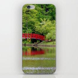 Japanese Garden Bridge iPhone Skin