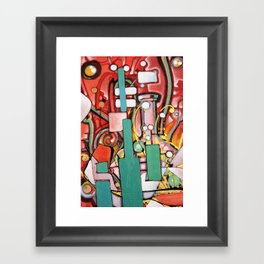 Block Science Framed Art Print