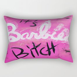 IT'S BARBIE BITCH Rectangular Pillow