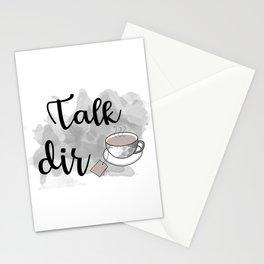 Talk DirTea Stationery Cards