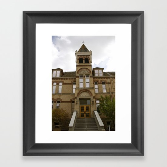 It's Old Main Framed Art Print