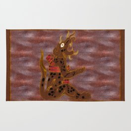The Leopard Men Rug