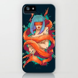 Blinded By Truth iPhone Case