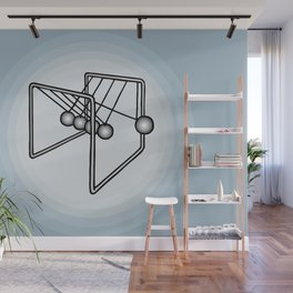 Newton's balls or Executive Ball Clicker Wall Mural