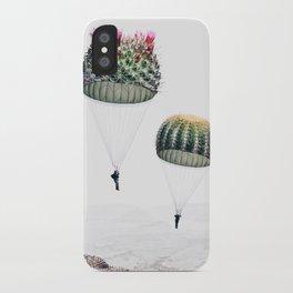 Flying Cacti iPhone Case