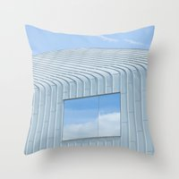 architecture Throw Pillows featuring Architecture by Mark Spence