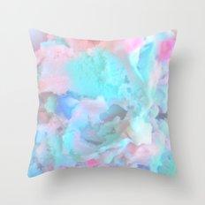 Pastel Cotten Candy Throw Pillow