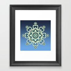 Celtic Snowflake Framed Art Print