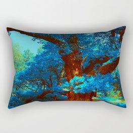 birnam wood in technicolor Rectangular Pillow