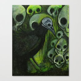 Catacombs Canvas Print
