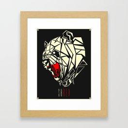 Shred Framed Art Print