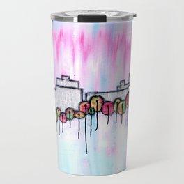 Fall skyline Travel Mug