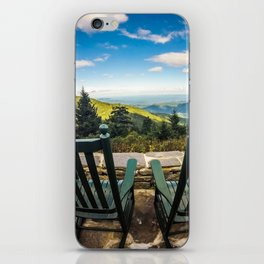 chilling view iPhone Skin