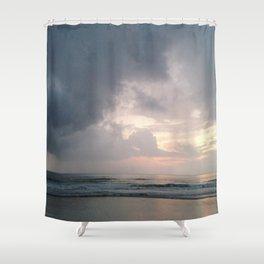 Pale Sunrise Shower Curtain