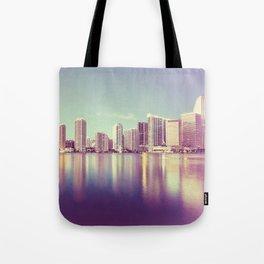 Vintage Miami Tote Bag