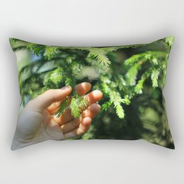 pine branch Rectangular Pillow