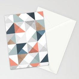 Modern Geometric 10 Stationery Cards