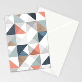 Modern Geometric 10 Stationery Cards