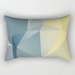 Adriatic / poster, art print, scandinavian, pictures, postcards, cards, deco, paper, art prints Rectangular Pillow